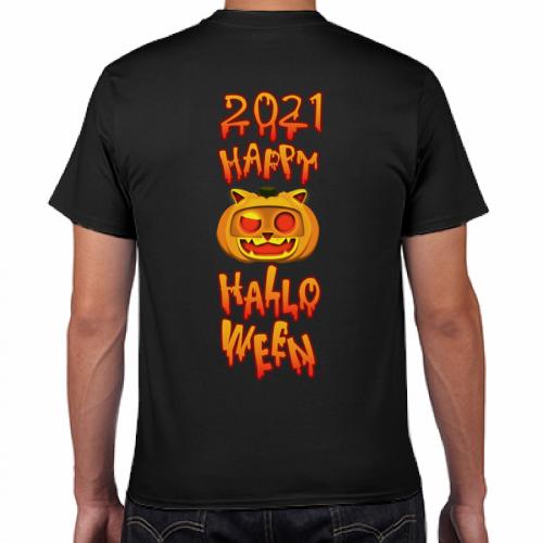 オリジナルのイラストデザインでハロウィンのTシャツを作成!